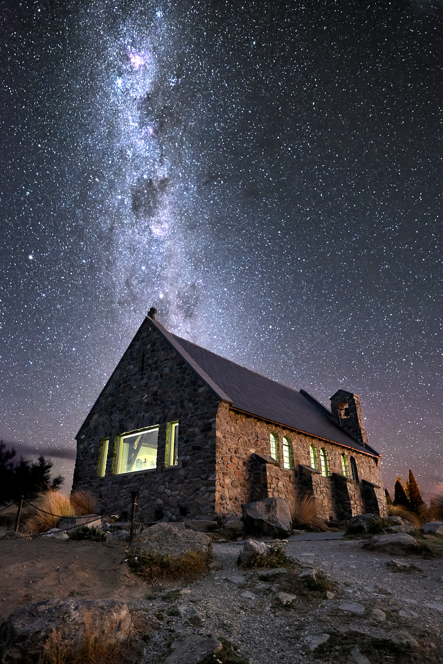 Love From The Universe || Tekapo New Zealand