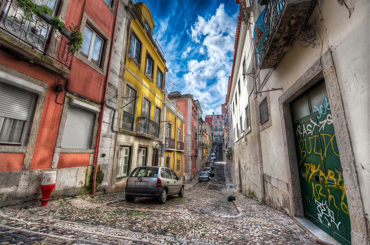 Urban Color - (Lisbon, Portugal)
