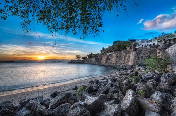 Sunset At Paseo De La Princesa || San Juan Puerto Rico