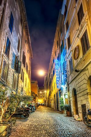 Alone At Midnight - (Rome, Italy)
