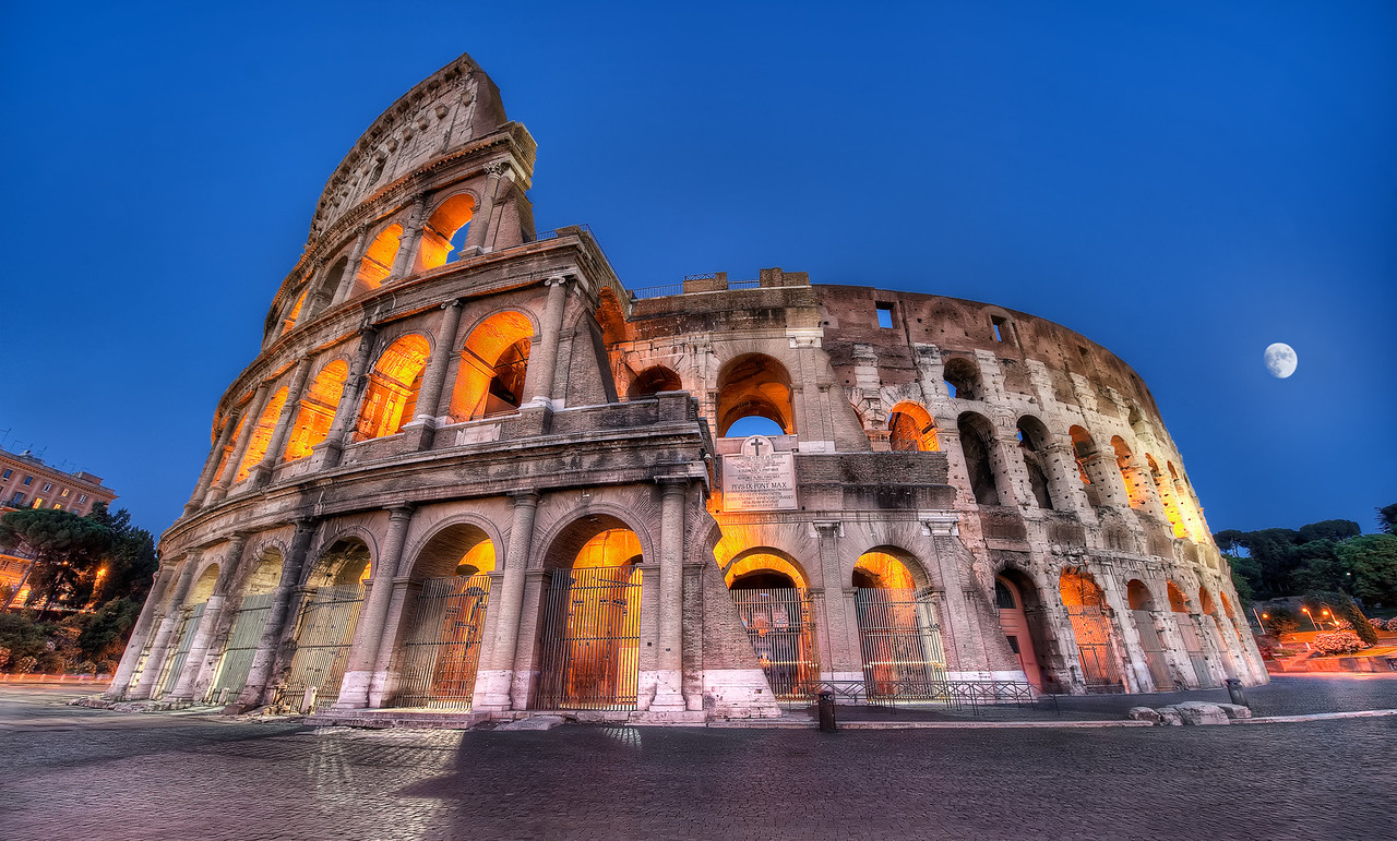 The Colosseum by Night - (Rome, Italy)