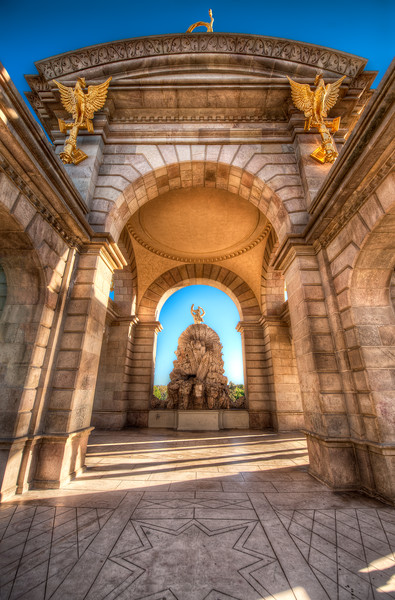 Arches of Highlight - (Barcelona, Spain)