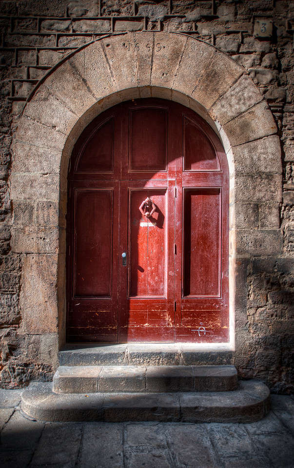Door Number 3 - (HDR Barcelona, Spain)