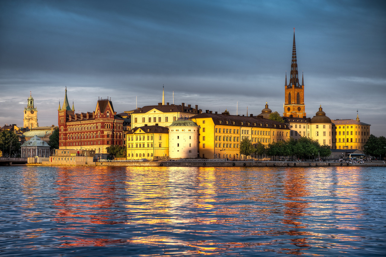 Gamla Stan In Golden Light || Stockholm Sweden