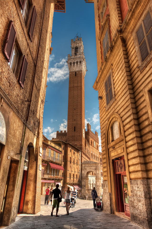 A Stunning View || Siena Italy