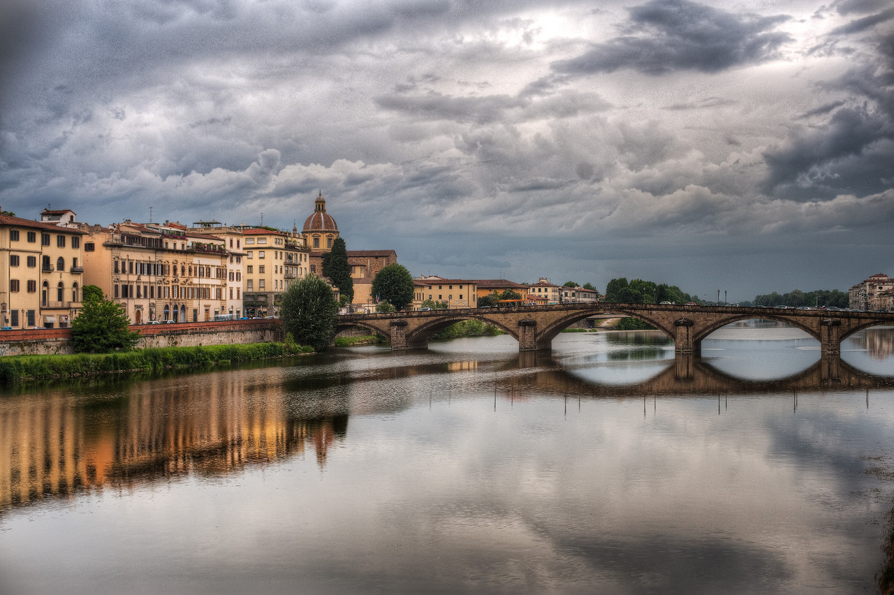 The Bridge and Beyond - (Florence, Italy)