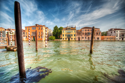 Turbulent Waters - (Venice, Italy)