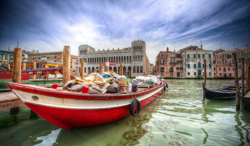 Special Delivery - (Venice, Italy)