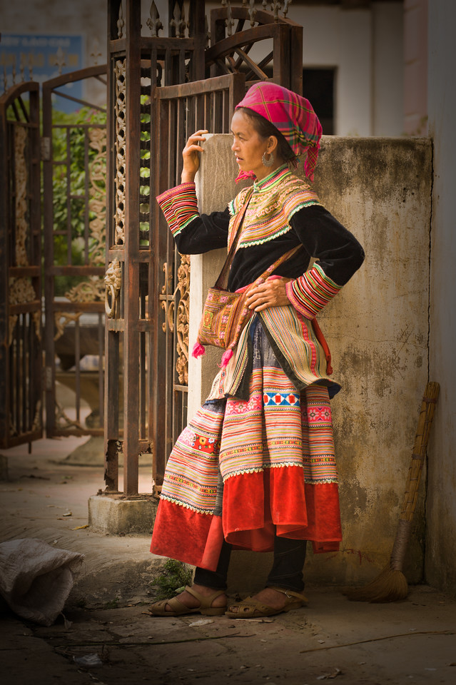 On the streets of Sapa, Vietnam