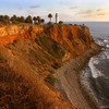 Los Angeles Lighthouse and the Palos Verdes shoreline.  Copyright - W. Keith Baum | PhotoCanal.com