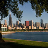 Lake Michigan, Chicago Harbor and the downtown skyline, Chicago, IL.  Copyright - W. Keith Baum | PhotoCanal.com