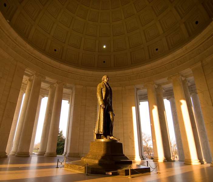 Thomas Jefferson Memorial, Washington, D.C., USA  Copyright - W. Keith Baum | PhotoCanal.com