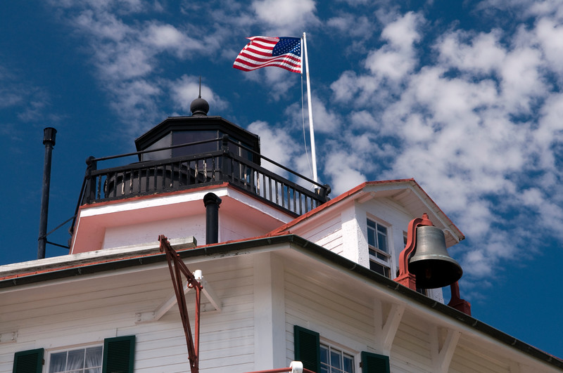 Drum Point Lighthouse & Calbert Marine Museum.  Copyright - W. Keith Baum | PhotoCanal.com