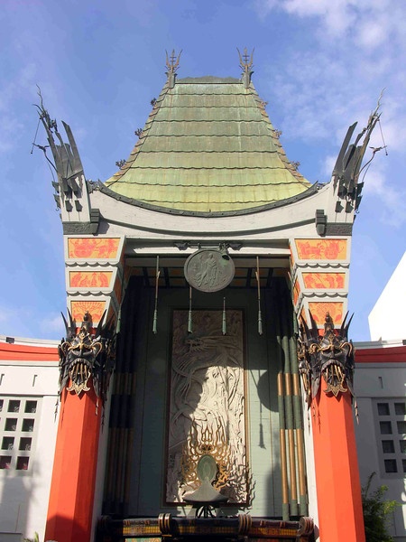 Grauman's Chinese Theater, Hollywood, Los Angeles, California.  Copyright - W. Keith Baum | PhotoCanal.com
