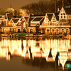 The lights of Boathouse Row are lit all year round, Philadelphia, PA  Copyright - W. Keith Baum | PhotoCanal.com