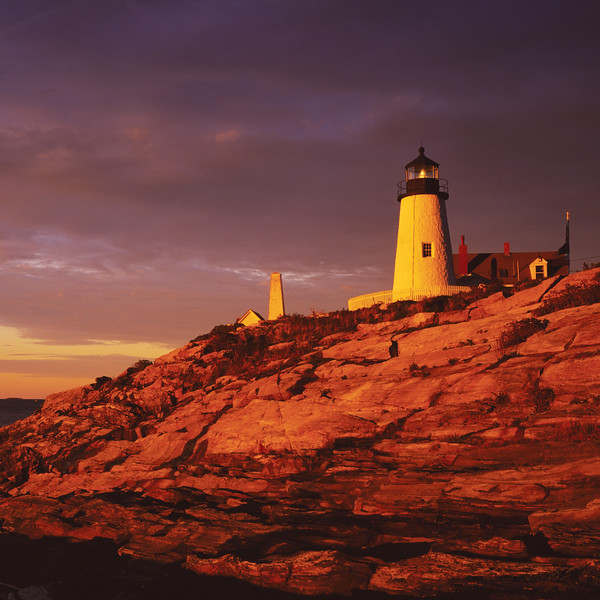 Pemaquid Point Lighthouse, Bristol, Maine, USA . Copyright - W. Keith Baum | PhotoCanal.com
