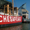 Lightship Chesapeake, which marked the entrance of the Chesapeake Bay for 33 years, Tour USS Torsk, last victorious WWII submarine; and the National Aquarium.  Copyright - W. Keith Baum | PhotoCanal.com