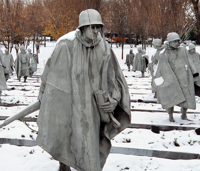 Korean War Memorial, Washington, D.C., USA  Copyright - W. Keith Baum | PhotoCanal.com