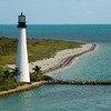 Cape Florida Lighthouse<br /> Key Biscayne  Copyright - W. Keith Baum | PhotoCanal.com
