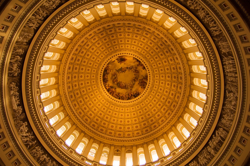 The Capitol Rotunda, Washington, D.C., USA  Copyright - W. Keith Baum | PhotoCanal.com