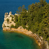 Miner's Castle, Pictured Rocks National Lakeshore, Michigan  Copyright - W. Keith Baum | PhotoCanal.com