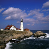 Portland Head Lighthouse, Cape Elizabeth, Maine, USA.  Copyright - W. Keith Baum | PhotoCanal.com