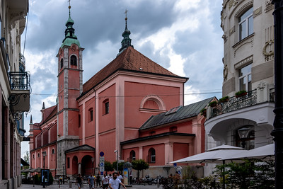 Franciscan Church of the Annunciation, Ljubljana