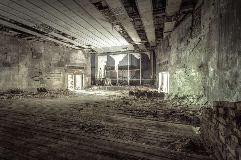 Pripyat´s movie theater