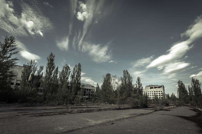 Pripyat´s main square