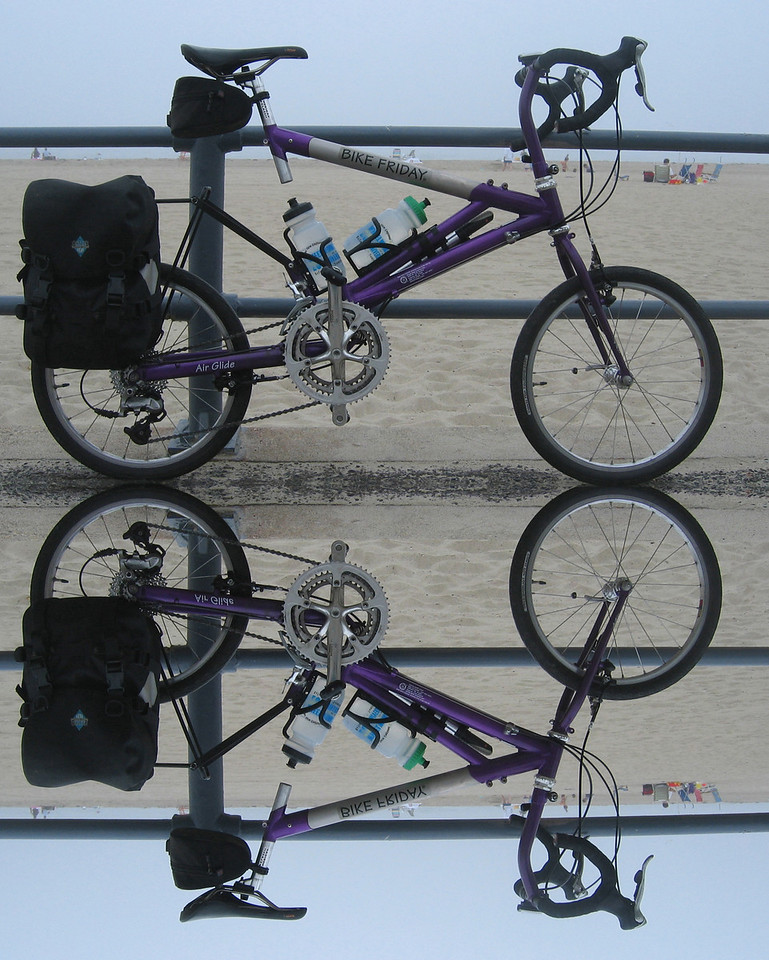 """<b>What's in that trailer? Or in those panniers?</b> <br/><br/> Self-contained bicycle touring, a packing list... When I first started touring, a list of the things that jumped into my panniers was a part of every journal. The person who really needed the list was me, not the people who were looking over my shoulder. And yet, I knew there were people just starting in the wonderful world of cycle touring who probably had the same questions (about gear) as I did when I was starting to travel on two (self-propelled) wheels.  <br/><br/> This list is a good sanity check for me as I get ready to wander, and maybe it will help someone who is new to this form of travel. <br/><br/> Click to jump to the article <b><a href=""""http://denisepacksforbiketours.blogspot.com/"""">What's in that trailer? Or in those panniers?</a></b>"""