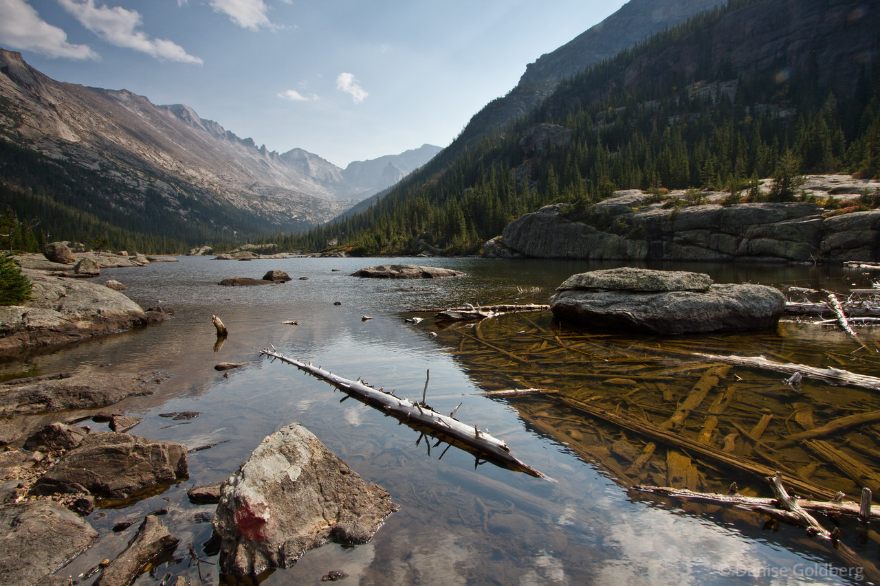 """<big>2012-09: Rocky Mountain National Park</big> <br/><br/>The mountains called to me and I answered. This 6-day visit to Rocky Mountain National Park was a wonderful escape, a chance to wander in the Rockies. It's already on my """"must return"""" list! <br/><br/> My journal for this trip lives as entries within my blog. Click to read the <a href=""""http://denisegoldberg.blogspot.com/search/label/Colorado%202012-09""""><b>TRIP-SPECIFIC BLOG ENTRIES</b></a> or my full <a href=""""http://denisegoldberg.blogspot.com""""><b>BLOG</b></a>.  <br/><br/> Click to visit the <a href=""""/Travel/Rocky-Mountain-NP-2012""""><b>PHOTO GALLERIES</b></a> from this trip."""