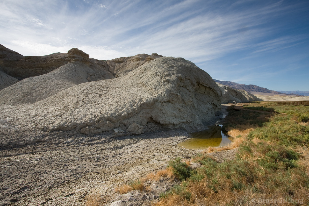"""<big>2008-11: A return to death</big> <br/><br/>Death Valley National Park is calling to me once again. This will be a somewhat fleeting trip, 3 days of absorbing stark beauty. <br/><br/> Click to visit my <a href=""""http://denisegoldbergdeathvalleynov2008.blogspot.com/""""><b>journal</b></a> or <a href=""""/Travel/A-return-to-death-November""""><b>photo galleries</b></a> from this trip."""