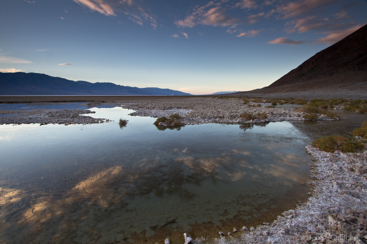 """<big>2010-12: Desert, water, red rocks</big> <br/><br/>Ah, the lure of the desert... A week's wander included locations in both California and Nevada: Death Valley National Park, Red Rock National Conservation Area, Valley of Fire State Park, the edge of Lake Mead National Recreation Area, and the Hoover Dam. <br/><br/> My journal for this trip lives as entries within my blog. Click to read the <a href=""""http://denisegoldberg.blogspot.com/search/label/Death%20Valley%20December%202010""""><b>TRIP-SPECIFIC BLOG ENTRIES</b></a> or my full <a href=""""http://denisegoldberg.blogspot.com""""><b>BLOG</b></a>.  <br/><br/> Click to visit the <a href=""""/Travel/Desert-water-red-rocks""""><b>PHOTO GALLERIES</b></a> from this trip."""