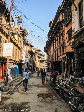 Street Scene Patan