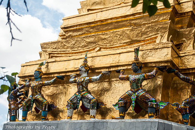 Wat Phra Kaeo Guards
