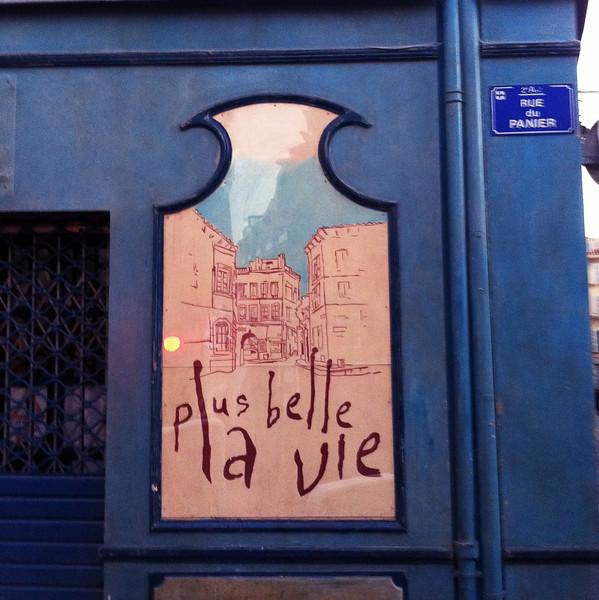 moments tranquilles au Panier Marseille - iPhone