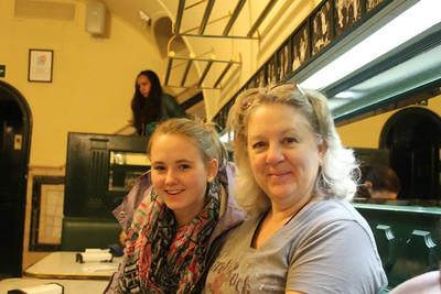 Annette's European travels