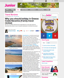 Why you should holiday in Greece: Costa Navarino [Family travel review]