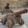 Französiche Kanonen (Napoleon) im osmanischen Fort