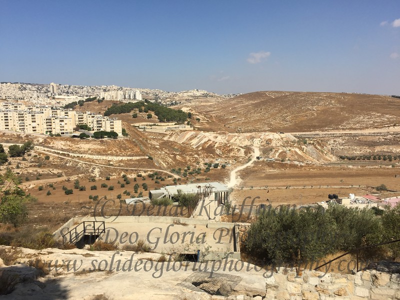 The field of Ruth and Boaz in Bethlehem.