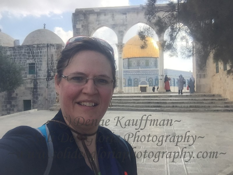 On the Temple Mount.