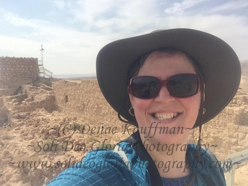 The ruins at Masada.