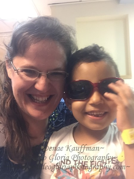 Rovar had to have a blood transfusion, but he enjoyed playing with my sunglasses while receiving it.