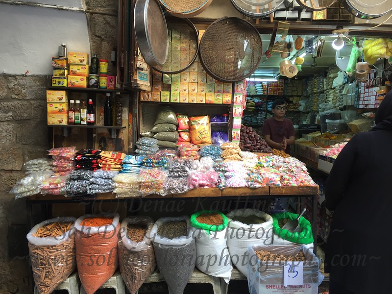 The tea and spice shops in the Old City are amazing. The shops in the Old CIty are amazing period! But even my bargaining loving self is exhausted after one or two transactions. They always start way higher just because your an American. It's even worse than the shops in India!