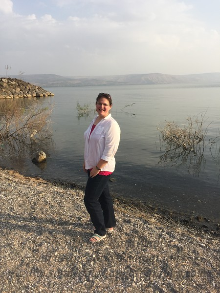"This is my favorite photo at my favorite location in all of Israel. Of all of the places where they say ""well it could have been here or maybe it was there"", when you walk along the shores of the Sea of Galilee, you know that you are walking in exactly the same place that Jesus walked enjoying the view that was dear to his heart. It was an amazing moment!"