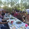 Finally got to enjoy lunch with the Kurdish families today! They are amazing cooks! It was such fun!