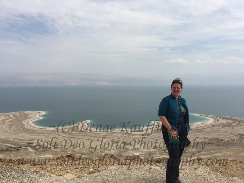 At the dead sea. And yes I did swim in the dead sea, and no you don't need to add that to your things to do in life. You haven't missed out on that much if you haven't done it!