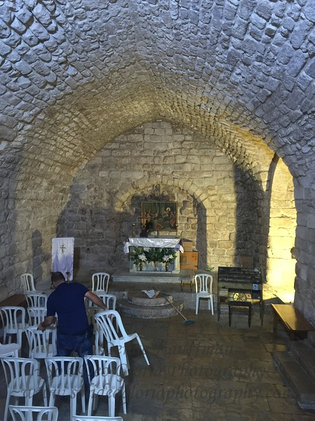 One of the synagogues in Nazareth where Jesus taught as mentioned in Luke 4:16. Wow!