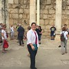 At the synagogue where Jesus taught! Wow!