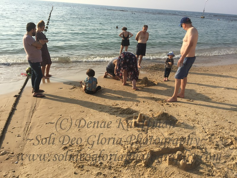 We took some of the kids to the beach today and went swimming and made sand castles. It was a wonderful afternoon!